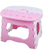 kabinga YM 101 plástico Simple, Banco pequeño de baño, Taburete de Pesca Plegable portátil para Adultos al Aire Libre para niños, Polvo, Unisex-Youth, M