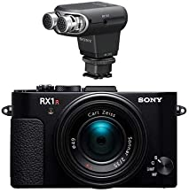 Sony Cyber-Shot DSC-RX1R II Full Frame Digital Camera - With Sony ECM-XYST1M Stereo Microphone