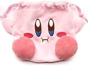 Lopbraa Pink Drawstring Plush Travel Makeup Cosmetic Storage Bags Organizer