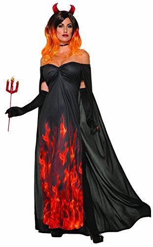 Forum Novelties 80754elegante costume da diavolo
