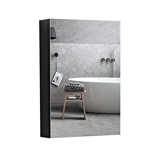 FLAMY Armarios con Espejo,Gabinete de Medicina para baño de Aluminio, gabinete de...