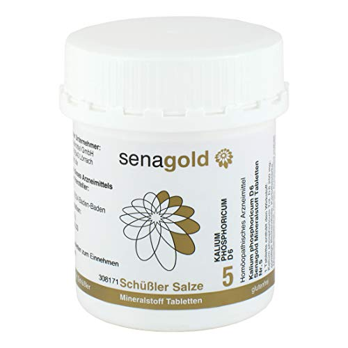 Schüßler Salz Nr.5 - Kalium phosphoricum D6-400 Tabletten, glutenfrei
