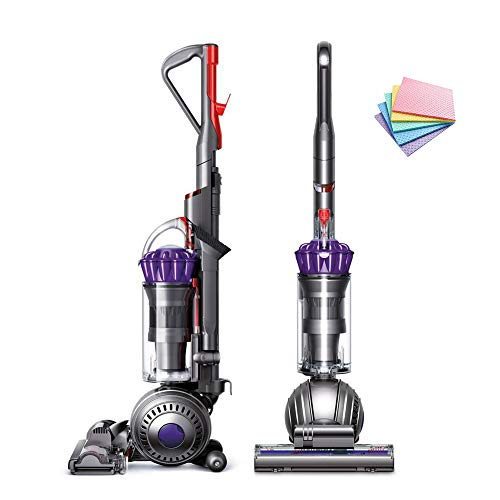 Dyson Ball Multi Floor Origin Vacuum Cleaner: High Performance, HEPA Filter, Upright, Bagless, Height Adjustment, Telescopic Handle, Self Propelled, Rotating Brushes, Purple + iCarp Sponge Cloth