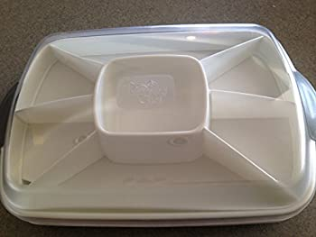 Pampered Chef Chillzanne Rectangle Server