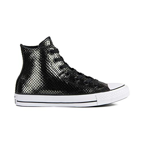 Converse Chuck Taylor All Star High Classic CTAS Hi Unisex Canvas Sneaker mit 7kmh Aufkleber Gold 3247 37
