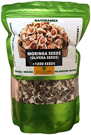 NaturaMex Moringa OLEIFERA Seeds 1200 Semillas de Moringa Fresh Natural 100 No GMO Product of product image