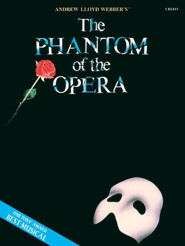 Price comparison product image The Phantom of the Opera: Instrumental Solos for Cello (VIOLONCELLE)