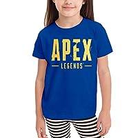 Apex Legends Logo Tシャツ 男の子 女の子 子供 半袖 綿 普段着 旅行 運動 丸首 薄手 気軽 吸汗 伸縮性 通気性 耐久 春秋冬 肌触り ソフト トップス 入学式