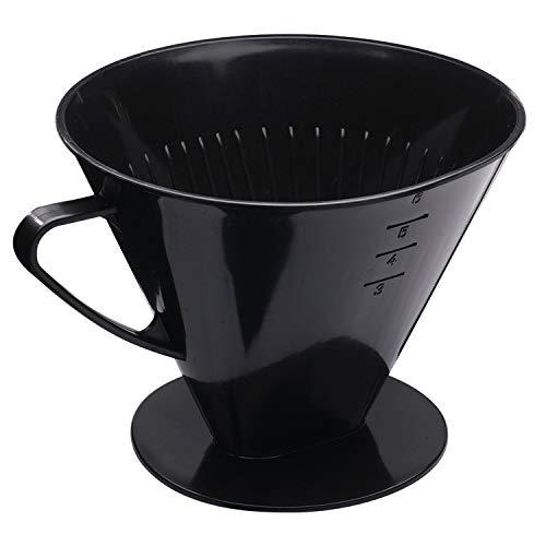 Westmark Filtro para café/Portafiltros, Filtro tamaño 6, Para hasta 6 tazas de café, Six, 24462261