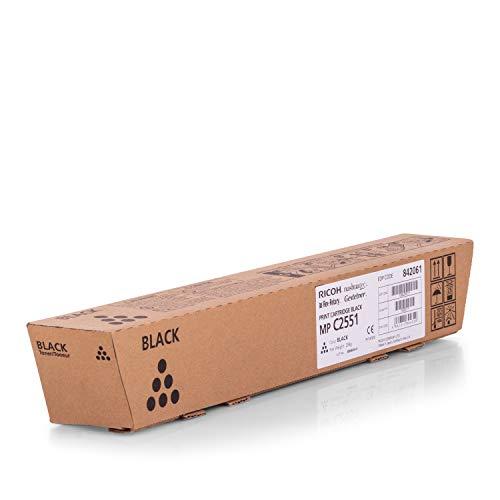 Toner original para Ricoh Aficio MP C 2051RICOH C2551 TYPE MPC 2551E, TYPEMPC2551E 841504, 841587–PREMIUM de impresoras cartucho–Negro–10.000páginas