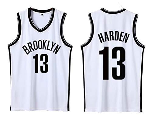 PUPPYY Brooklyn 13# Harden - Camiseta de baloncesto para baloncesto (material de poliéster Unsiex, uniforme de baloncesto, transpirable, 5XL