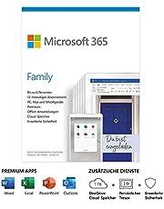 Microsoft 365 Family Standard 6 Nutzer . Mehrere PCs/Macs, Tablets und mobile Download