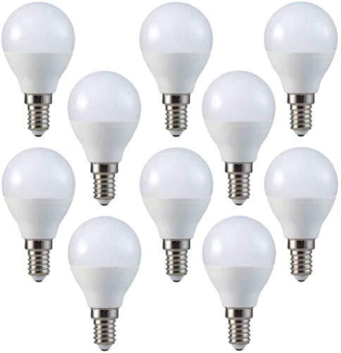10-er SET, V-TAC, E14, 3W, LED Birne, Entspricht 25W, 2700K, Warmwei?, 250 Lumen, 180° Abstrahlwinkel