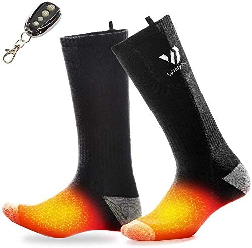 WILDYAK Heated New popularity Socks for Men Ranking integrated 1st place - Rechargeable Women Heating