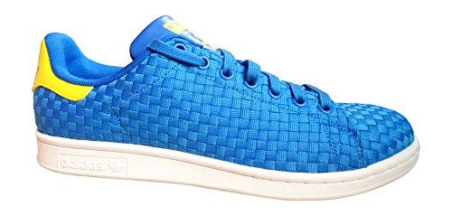 adidas Originals Stan Smith BA8444 - Zapatillas de deporte para hombre (talla 41 1/3), color azul y amarillo