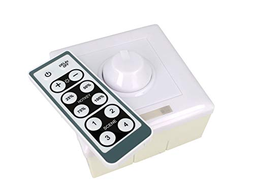 Varialuce LED Triac dimmer SCR 220 V 150 W en PWM 0-10V DC voor LED-lampen met infrarood afstandsbediening DM012