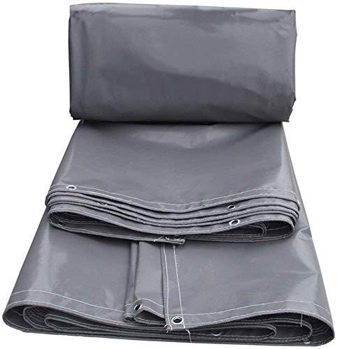 LLSS Lona de PVC a Prueba de Lluvia Carpa Camión Vagón de Carga Patio de Carga Tela para cobertizo Sombra de Alta Resistencia, Resistente a la Lluvia, Resistente al desga