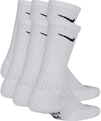 Nike Kids' Performance Cushioned Crew Training Socks (6 Pair)