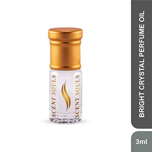 Scent Souls Bright Crystal Long Lasting Attar Fragrance Perfume Oil For Women- 3 ml