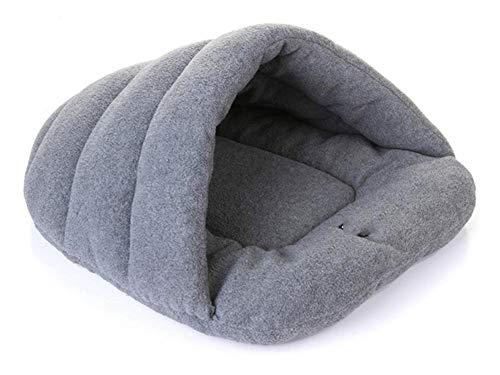 ZHAOXIN Zapatillas cálidas de Invierno Estilo Cama para Perros Mascota casa para Perros Lindo Suave Adecuado para Gatos y Perros Estera para Mascotas