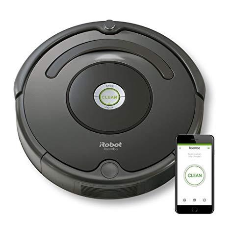 iRobot Roomba 676 aspirapolvere robot Senza sacchetto Nero 0,6 L