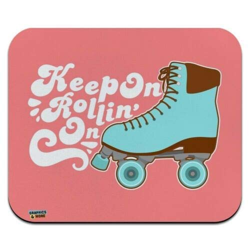Mausmatte, Rollschuhe Derby Rolling Skating Low Profile Dünnes Mauspad Mousepad, Gaming Mouse Pad