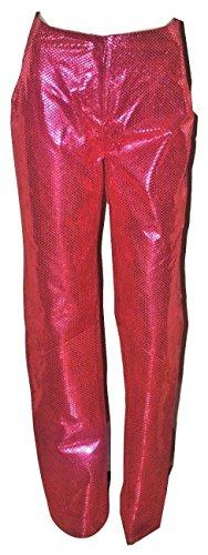 Vintage G Gigli Men's Women's Star Pants Hot Pink (10/12 (46IT))