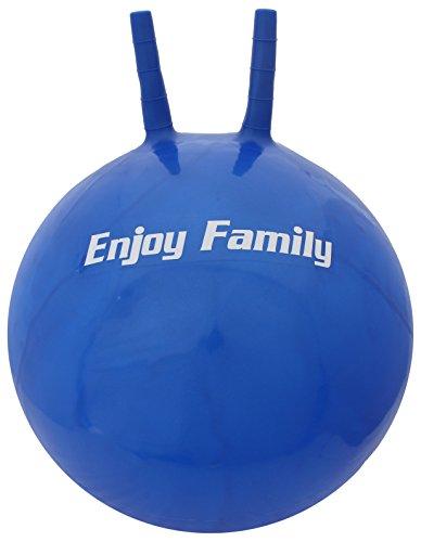 サクライ貿易(SAKURAI) エンジョイ ファミリー(Enjoy Family) バランスボール フィットネス ジャンプボール35cm ブルー EFS-190