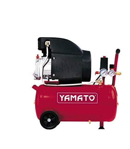 YAMATO Elettrocompressore carellato coassiale Yamato 24 litri 2 HP 8 Bar