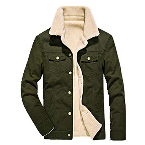 Chaqueta de invierno de los hombres de la fuerza aérea piloto chaqueta caliente masculina cuello de piel chaqueta para hombre y abrigos