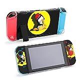 Funda protectora para Nintendo Switch, pingüino jugando saxofón funda duradera para Nintendo Switch y Joy Con