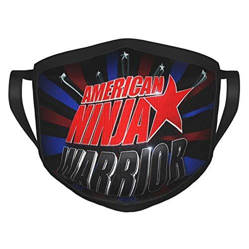American Ni-nj-a War-rior Masc facial para adultos patrón de pasamontañas faciales reemplazar motocicletas