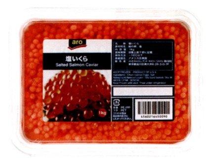 塩いくら 1kg 【冷凍】/アロ(12パック)