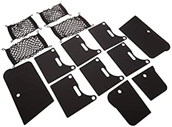 Mopar 82213570 Cargo RamBox Six Vertical Horizontal Dividers Four Expandable Storage Nets 12 Pack