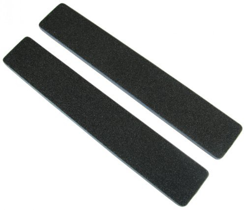 Standard Black 80/80 (Blu Ctr) 1-1/8 Wide Washable Jumbo Nail File by Jaylie by Jaylie