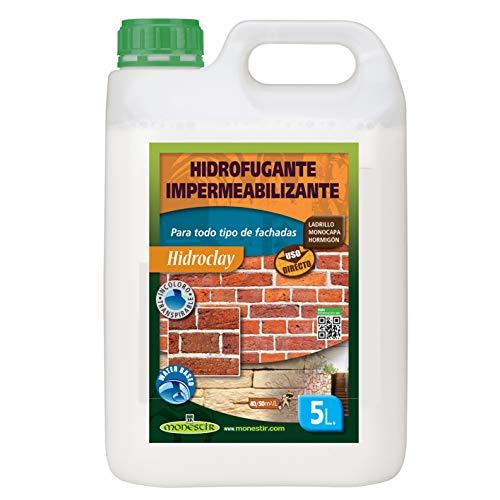 Hidroclay Hidrofugante impermeabilizante de fachadas MONESTIR 5L