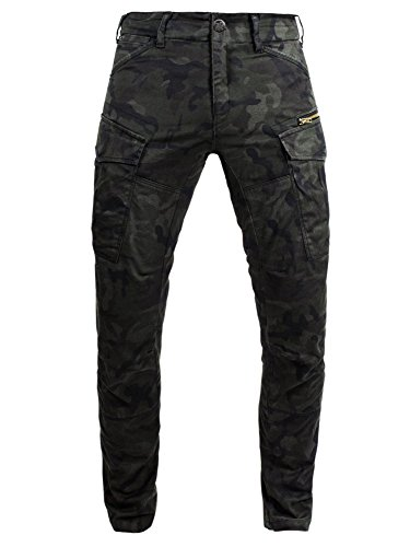 John Doe Motorrad Hose Pants Stroker Camouflage-W32-L34-XTM