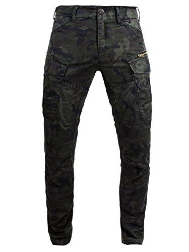 John Doe Motorrad Hose Pants Stroker Camouflage-W30-L32-XTM