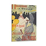 Modernes Poster von Toulouse Lautrec, abstraktes Poster,