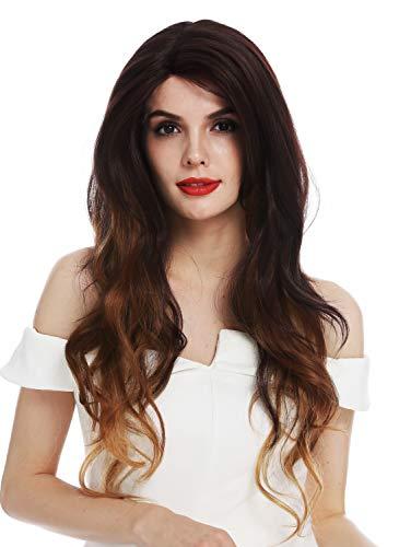 conseguir pelucas largas de color castaño online