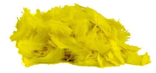 Mouldmaster 121 08, Plumas para Manualidades, color Amarillo, 5 g, 20 x 15 x 2 cm