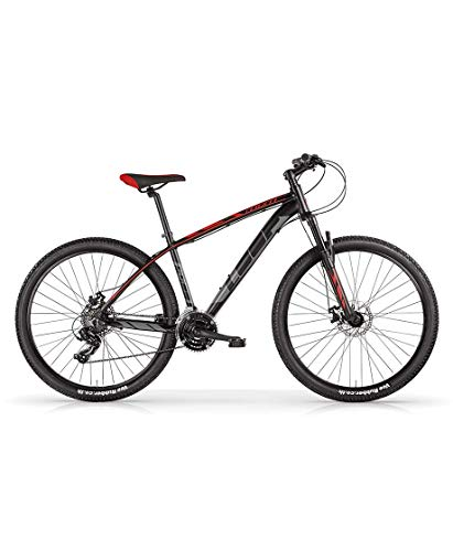 MBM Loop 29 Disk BR. MTB all 21S STEF, MBN Bici Unisex Adulto, Rosso A20, 38