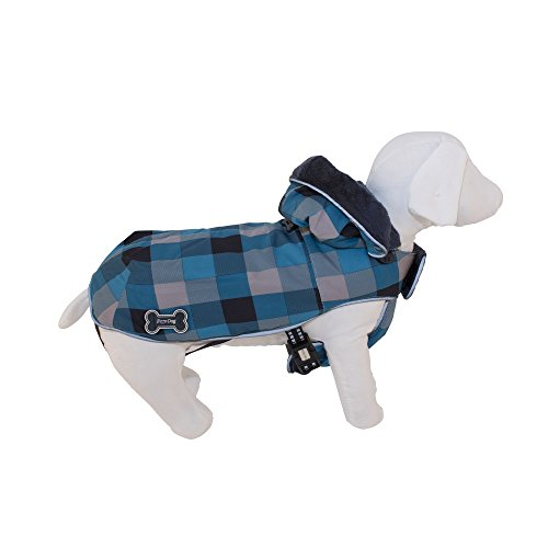 Fussdog Snowboard Jas Blauw Hond Accessoire Capottini en Kleding