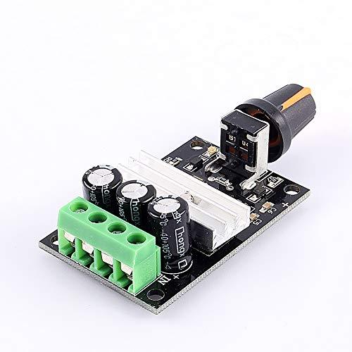 Weikeya Interruptor de Controlador Ajustable eficiente, regulador de Voltaje del Controlador 3A 1PC 6V-28VDC