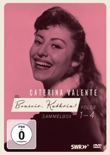Caterina Valente: Bonsoir, Kathrin! - Folge 1-4 (Limited Edition inkl. Booklet) (4 DVDs)