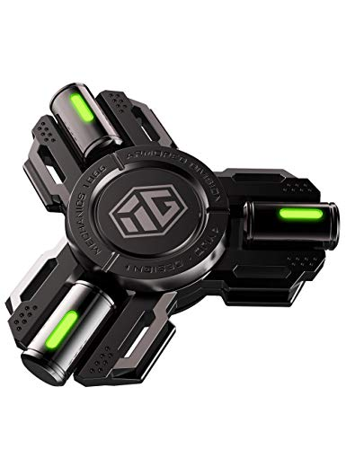 Fidget-Spinners-Fidget-Spinner-Gifts-for-Adults-and-Kids-Stress-Anxiety-ADHD-Relief-Figets-Toy-Metal-Finger-Hand-Spinner-Toys-with-Luminous-Light-Spinner-Absorb-Solar-Light-then-Release-in-Dark