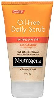 Neutrogena Oil-Free Acne Scrub 125mL