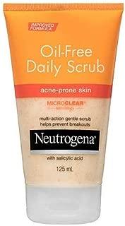 Neutrogena Oil-Free Acne Scrub 125mL