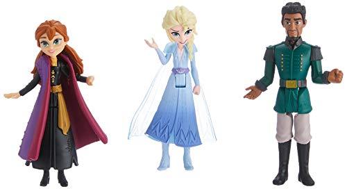 Hasbro Disney Frozen Anna, Elsa en Mattias kleine poppen E6912ES0