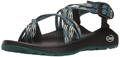 Chaco Women's ZX2 Classic Athletic Sandal, Angular Teal, 5 M US